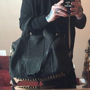 Alexander Wang Rocco Studded Duffle Bag